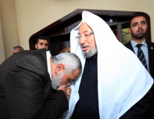 Qaradawi With Hamas Prime Minister
