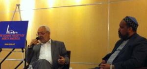 Rachid Ghannouci & ISNA President