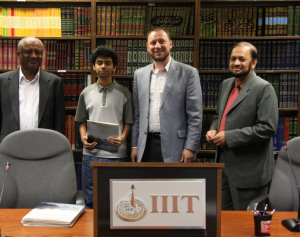 Ermin Sinanovic  at IIIT