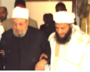 Mohamed Dedaw With Qaradawi