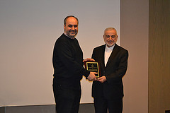Ahmad Totonji Receiving Award