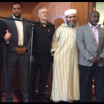 Jeremy Corbyn at the Finsbury Mosque